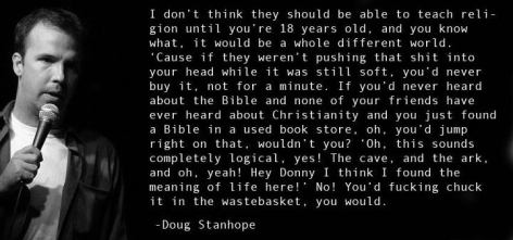 Doug Stanhope I Don't Think They