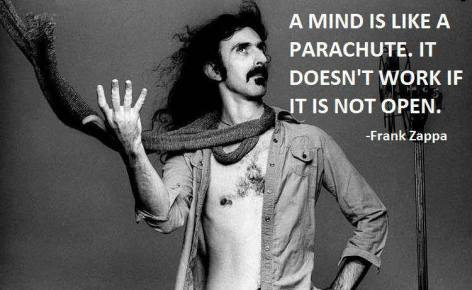 Frank Zappa A Mind Is Like A Parachute