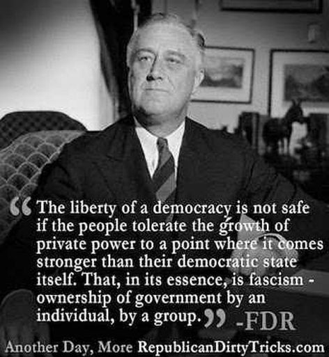 Franklin Delano Roosevelt The Liberty