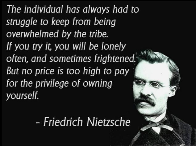 Nietzsche Quotes: Ha! Tea 'n' Danger
