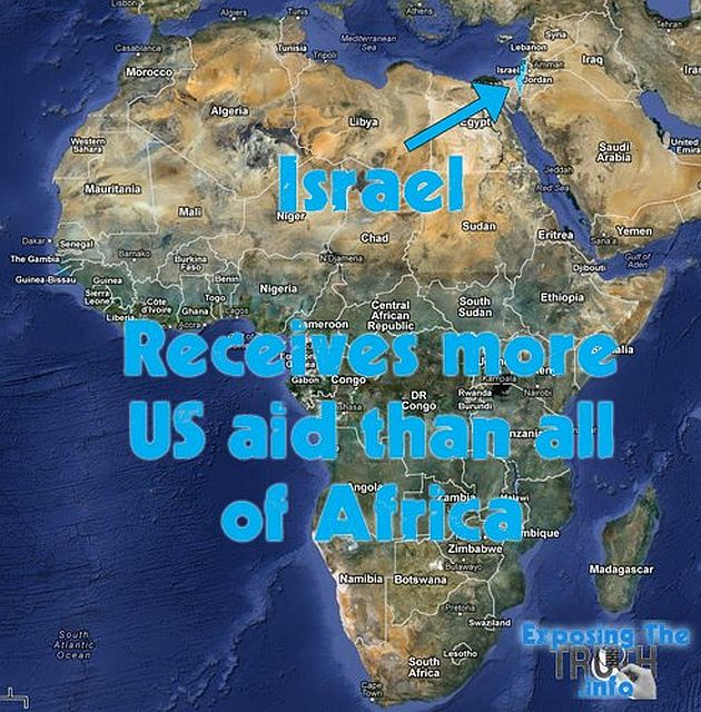 Israel Receives More US Aid Than All Of Africa