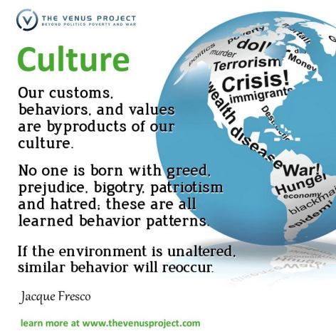 Jacque Fresco Culture Our Customs