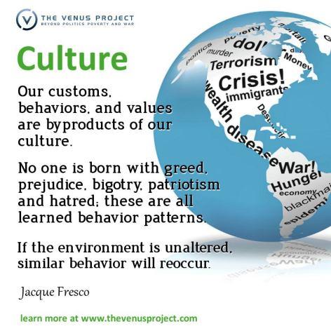 Jacque Fresco Culture Our Customs