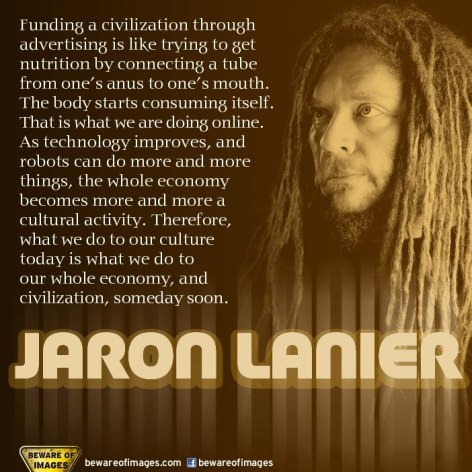 Jaron Lanier Funding A Civilization