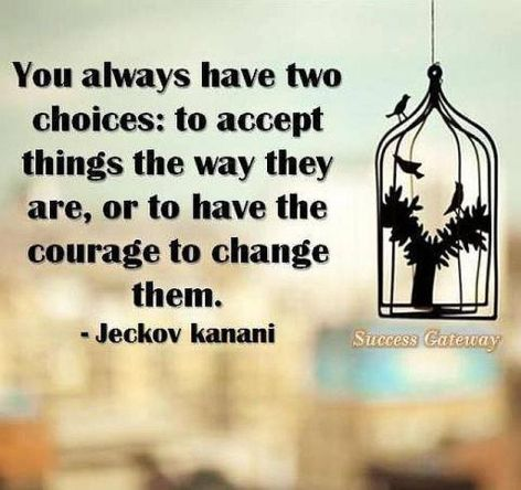 Jeckov Kanani You Always Have Two Choices
