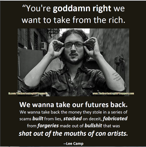 Lee Camp You're Goddamn Right We Want To Take From The Rich