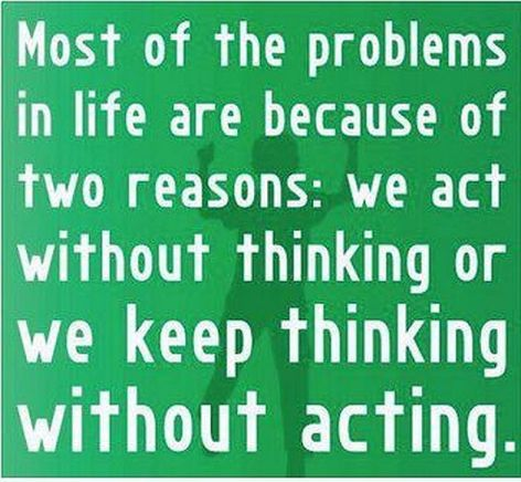 Most Of The Problems In Life Are