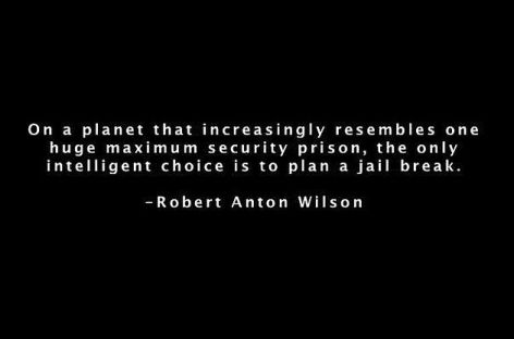 Robert Anton Wilson On A Planet That