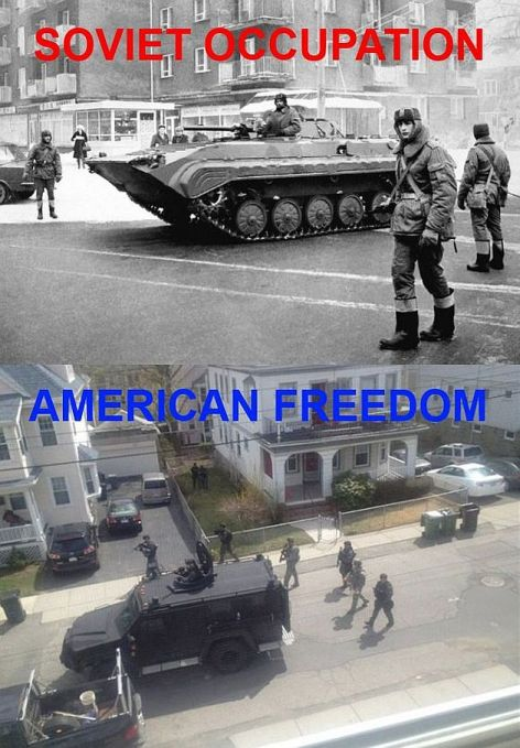 Soviet Occupation American Freedom