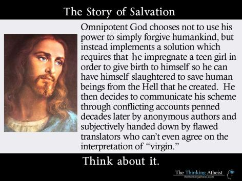 The Story Of Salvation Think About It