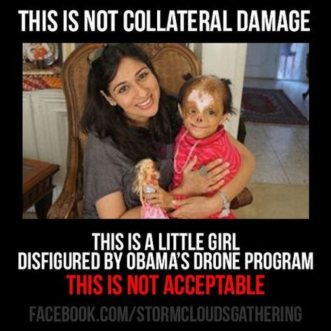This Is Not Collateral Damage This Is A Little Girl