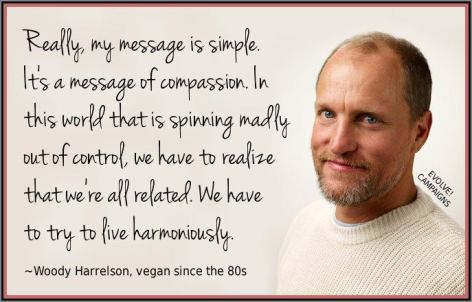 Woody Harrelson Really My Message Is Simple