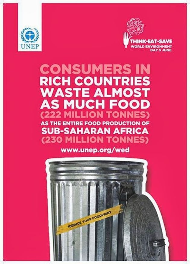 Consumers In Rich Countries Waste Almost As Much Food As The Entire Food Production Of Sub-Saharan Africa