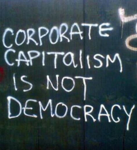 Corporate Capitalism Is Not Democracy