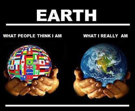 Earth What People Think I Am What I Really Am