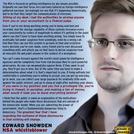 Edward Snowden NSA Whistleblower