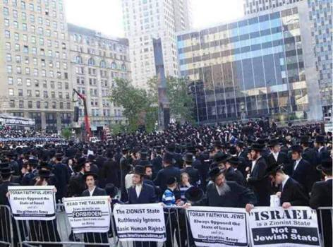 Jews March Against Israel & Zionism1