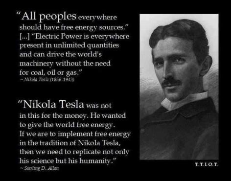 Nikola Tesla All People Everywhere