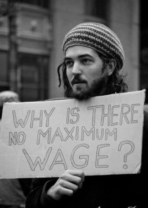 Why Is There No Maximum Wage