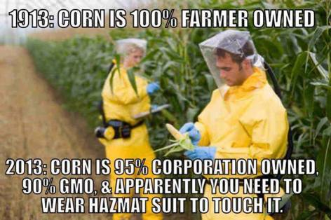 1913 Corn Is 100% Farmer Owned