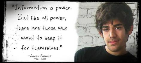 Aaron Swartz Information Is Power