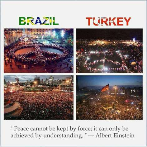 Albert Einstein Peace Cannot Be Kept By Force It Can Only Be Achieved By Understanding Brazil Turkey