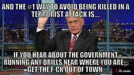 And The #1 Way To Avoid Being Killed In A Terrorist Attack Is