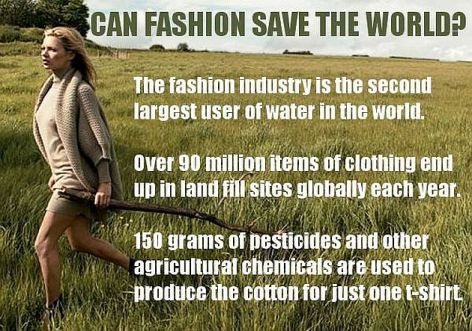 Can Fashion Save The World