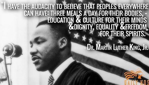 Martin Luther King Quotes I Believe