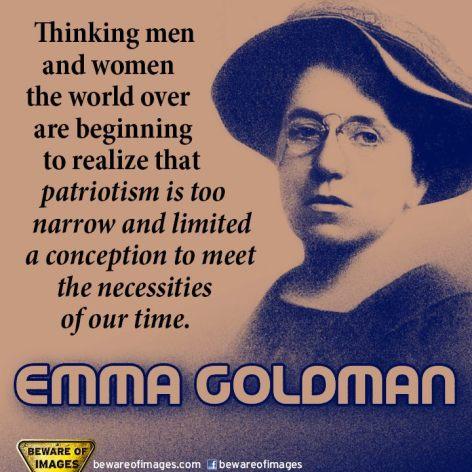 Emma Goldman Thinking Men And Women