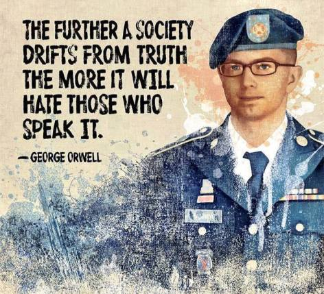 George Orwell The Further A Society Drifts From Truth The More It Will Hate Those Who Speak It