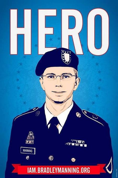 Hero I Am Bradley Manning .Org