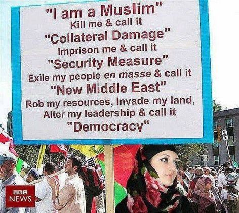 I Am A Muslim Kill Me & Call It Collateral Damage