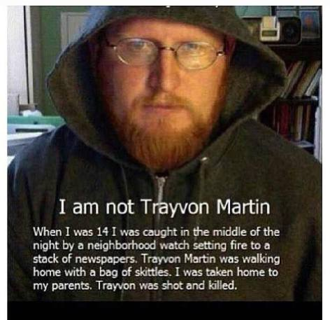 I Am Not Trayvon Martin When I Was 14