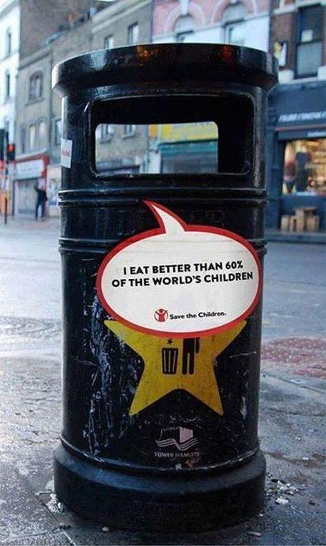 I Eat Better Than 60% Of The World's Children