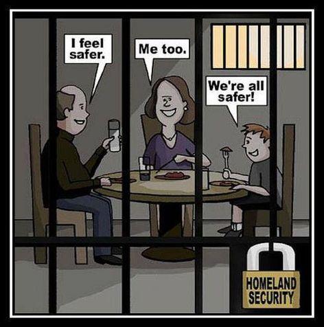 I Feel Safer Me Too We're All Safer Homeland Security