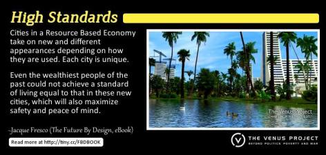 Jacque Fresco High Standards Cities In A Resource Based Economy