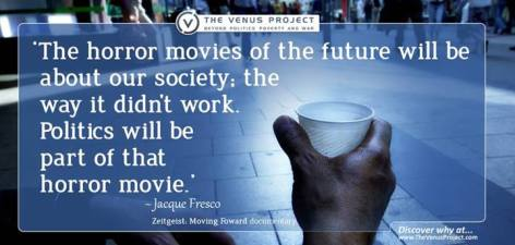 Jacque Fresco The Horror Movies Of The Future