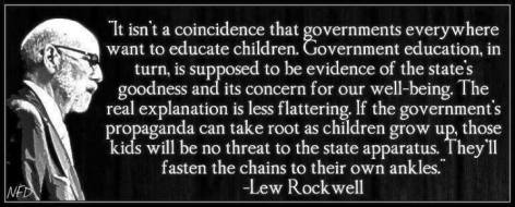 Lew Rockwell It Isn't A Coincidence