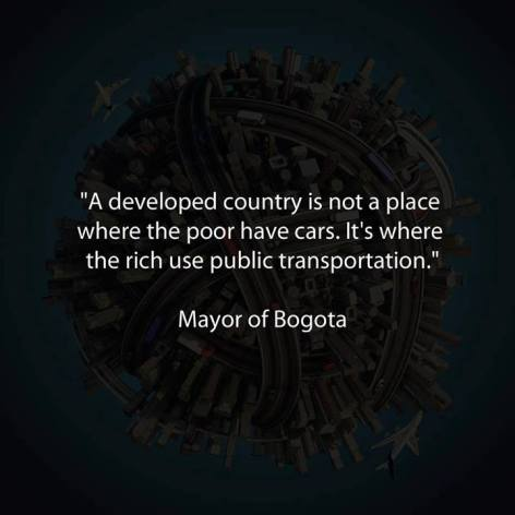 Mayor Of Bogota A Developed Country