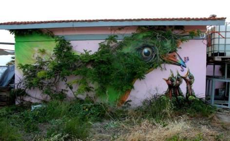 Momma Bird Three Baby Birds Wall Art