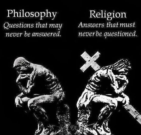 Philosophy Questions That May Never Be Questioned Religion Answers That Must Never Be Questioned