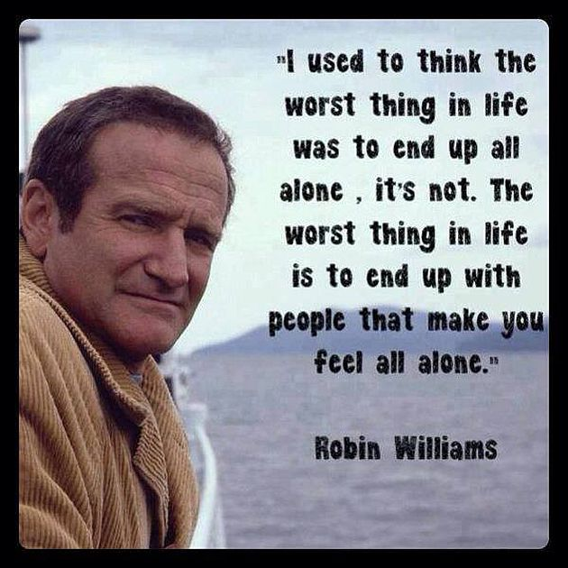 All you have to do is think one happy th by robin williams for When was it s a wonderful life made