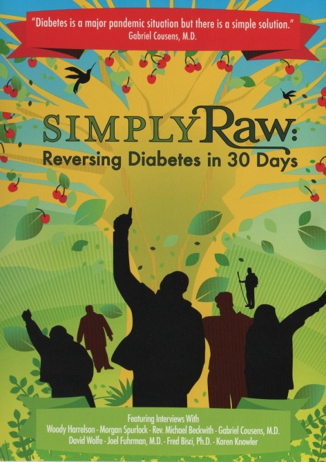 Simply Raw Reversing Diabetes In 30 Days cover poster