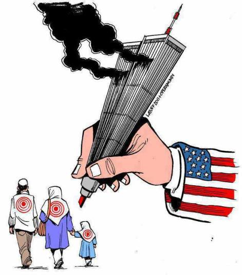 The US Used The Twin Towers To Put Targets On The Backs Of Muslims
