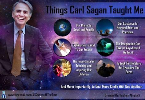 Things Carl Sagan Taught Me