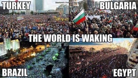 Turkey Bulgaria The World Is Waking Brazil Egypt