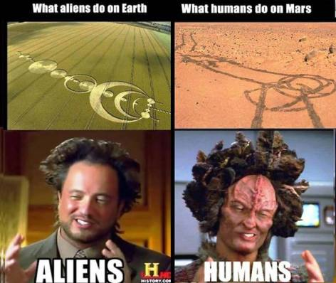 What Aliens Do On Earth What Humans Do On Mars