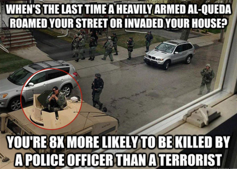 When's The Last Time A Heavily Armed Al-Queda