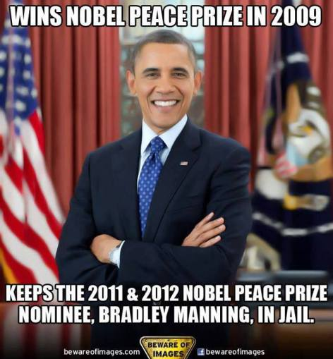 Wins Nobel Peace Prize In 2009 Keeps The 2011 & 2012